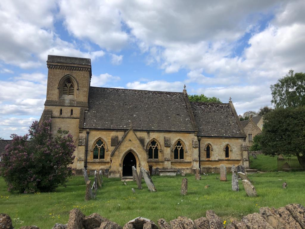 Picturesque Snowshill Church